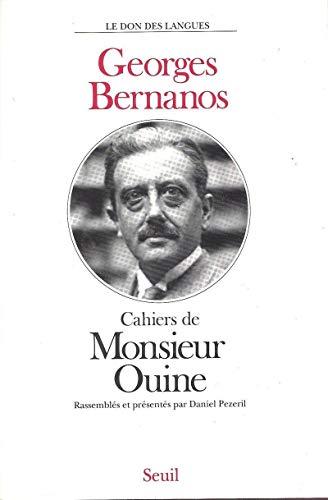 9782020127417: Cahiers de Monsieur Ouine