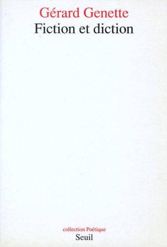 Fiction et diction [Jan 01, 1991] Genette,: GÃ rard Genette