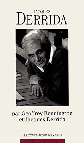 Jacques Derrida (Les Contemporains) (French Edition): Bennington