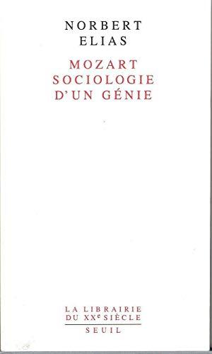 9782020134057: Mozart, sociologie d'un g�nie