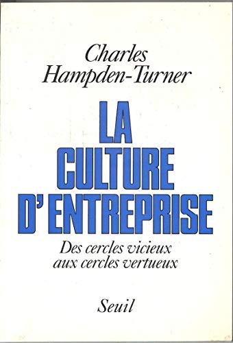 La Culture d'entreprise : Des cercles vicieux aux cercles vertueux: Hampden-Turner, Charles
