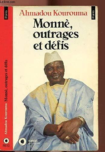 9782020146296: Monnè, outrages et défis [Ancienne édition]