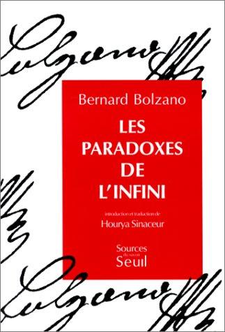 9782020159197: Les paradoxes de l'infini