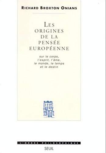 9782020173698: Les origines de la pensée européenne