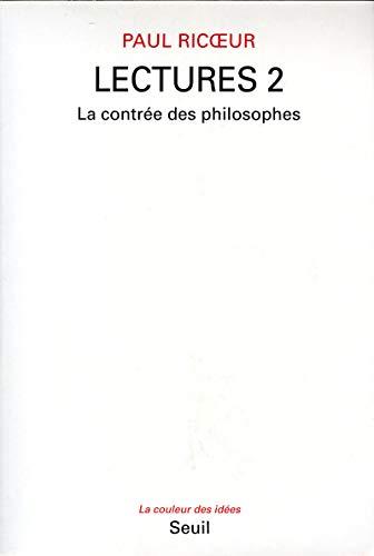 9782020191180: Lectures, t. 2. La Contrée des philosophes (2)