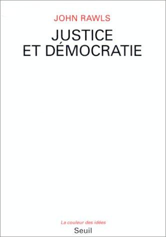 Justice et dà mocratie [Dec 01, 1993]: John Rawls