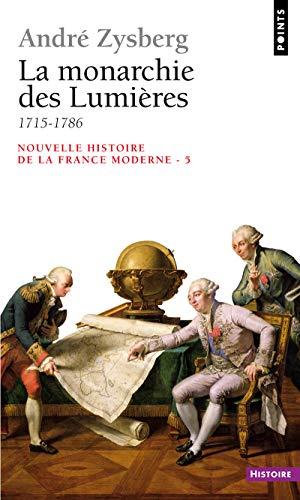 9782020198868: Nouvelle histoire de la France moderne, tome 5 : La Monarchie des Lumières (1715-1786)