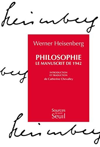 9782020206464: PHILOSOPHIE. Le manuscrit de 1942 (Sources du savoir)