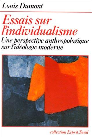 9782020208161: Essais sur l'individualisme (Coll.Esprit)