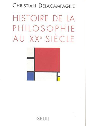 9782020211130: Histoire de la philosophie au XXe siècle (French Edition)