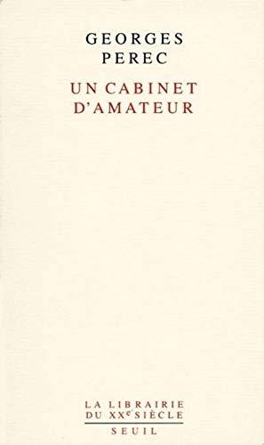 9782020213677: Un cabinet d'amateur (La Librairie du XXIe siècle)