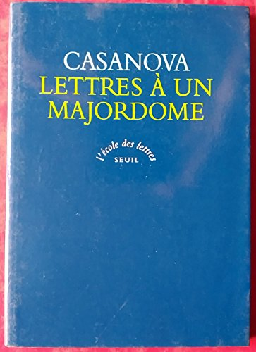 9782020225472: Lettres � un majordome : Texte int�gral