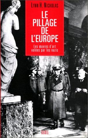 Le Pillage de l'Europe : Les oeuvres
