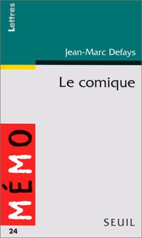 9782020230292: Le comique