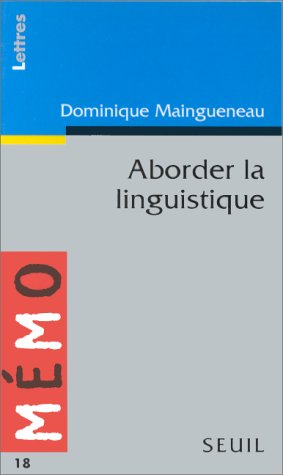 9782020230315: Aborder la linguistique