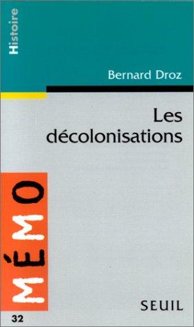 9782020231213: Les décolonisations