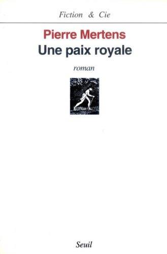 9782020238021: Une paix royale