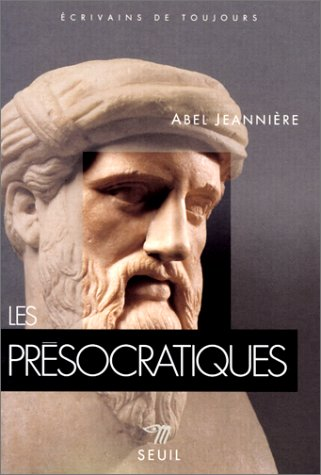9782020255134: Les présocratiques