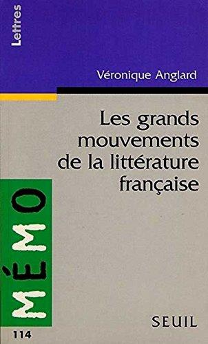 9782020259460: Les grands mouvements de la littérature française
