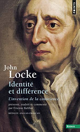 Identité et Différence : L'Invention de la conscience, édition bilingue (...