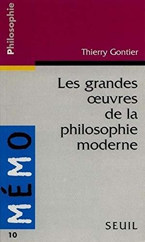 9782020281782: Les grandes oeuvres de la philosophie moderne