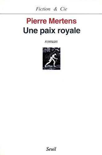 9782020285247: Une paix royale
