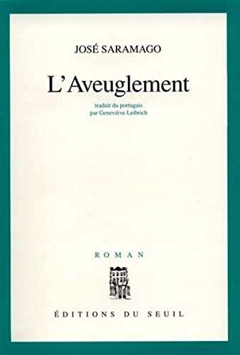 9782020289528: L'Aveuglement