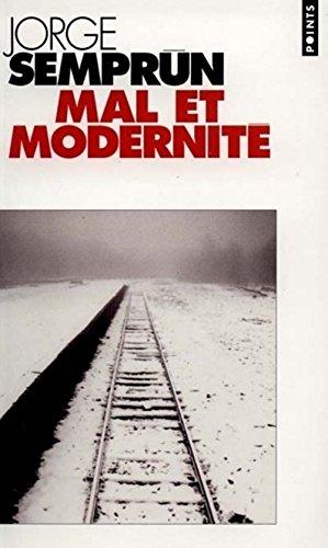 9782020291408: Mal et modernité