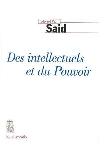9782020293884: Des intellectuels et du pouvoir