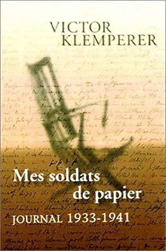 9782020297905: Mes soldats de papier. Journal 1933-1941