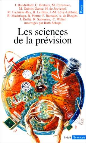 9782020300209: Les sciences de la pr�vision