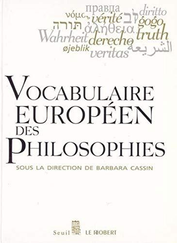 9782020307307: Vocabulaire européen des philosophies