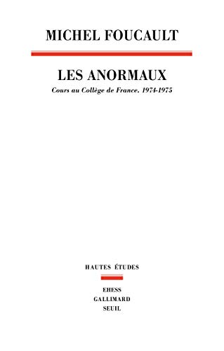 Les anormaux (French Edition): Michel Foucault