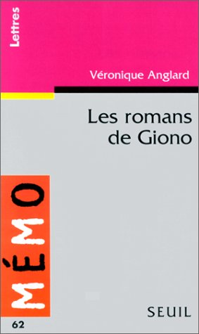 9782020308540: Les romans de Giono (Memo)