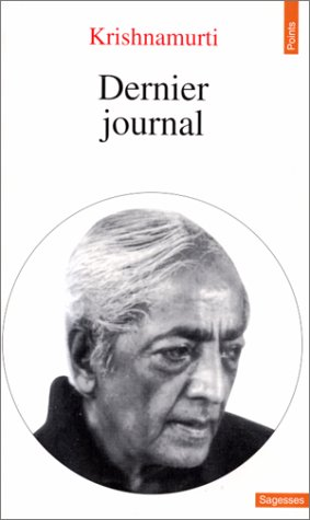 9782020309080: Dernier Journal (English and French Edition)