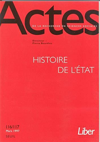 9782020314671: Actes de la recherche en sciences sociales, numéros 116 - 117