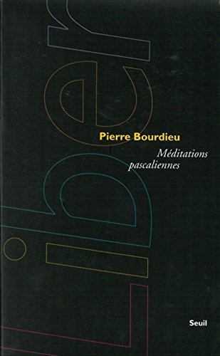 9782020320023: Meditations Pascaliennes (Collection Liber) (English, French and French Edition)
