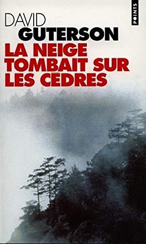 9782020321211: LA Neige tombait Sur Les Cedres