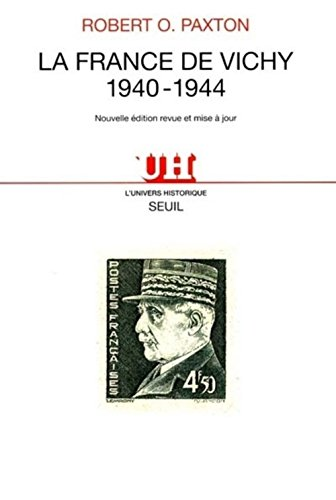 9782020323055: La France de Vichy: 1940-1944