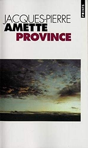 9782020323611: Province (English and French Edition)