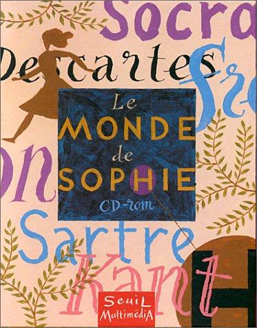 9782020326193: Le Monde de Sophie: Le Jeu d'aventure de la philosophie (Cédérom PC)