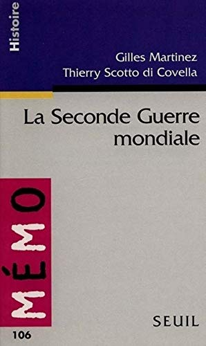 9782020336345: Seconde Guerre Mondiale(la) (English and French Edition)
