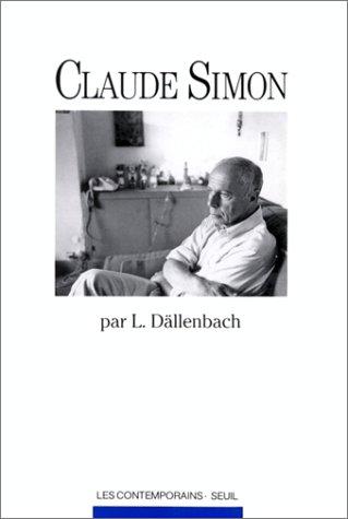 9782020342834: CLAUDE SIMON (Les contemporains)