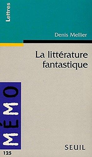 9782020344975: La littérature fantastique