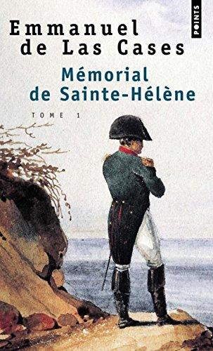 9782020357975: MEMORIAL DE SAINTE-HELENE. Volume 1