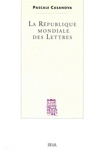 9782020358538: Le republique mondiale des lettres (French Edition)