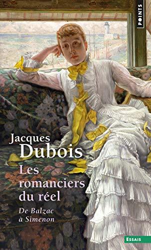 9782020361590: Les romanciers du réel : de Balzac à Simenon