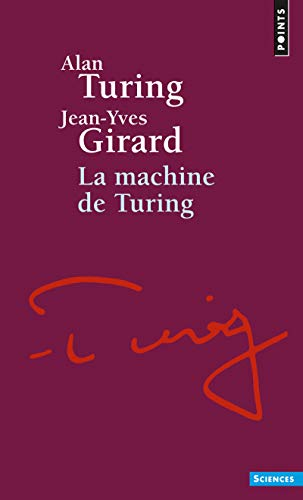 9782020369282: Machine de Turing(la) (Points Sciences)