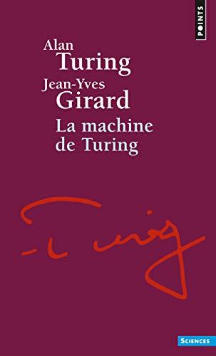 9782020369282: Machine de Turing(la) (English and French Edition)