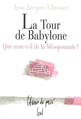 Tour de Babylone (La): Glassner, Jean-Jacques